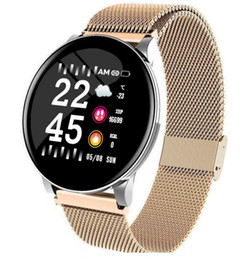 Wholesale samsung gears for sale - Group buy Hot Metal band W8 Fashion Smart Watch IP67 Waterproof Heart Rate Weather Forecast Smartwatch for Samsung Huawei Watch PK Active Gear Watch
