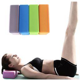 $enCountryForm.capitalKeyWord Australia - RANKA EVA Yoga Block Foam Foaming Block Brick Exercises Roller Fitness Tool Workout Stretching Aid Body Shaping Health Training