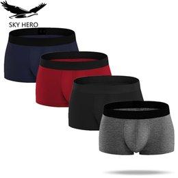 Men's Underwear Exquisite Unique Red Plaid Cotton Boxershorts For Men Boxer Underwear Homme Cueca Masculina Algodon Marca Boxers Calzoncillos Discounts Sale