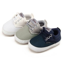 $enCountryForm.capitalKeyWord Australia - fashion Children Shoes Casual Canvas Lace-up Crib Shoes For Girls trainer Boys tenis Kids Fashion Flats Comfortable Baby sneaker