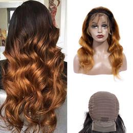 $enCountryForm.capitalKeyWord Australia - Brazilian Virgin Hair 1B 30 Body Wave Human Hair Lace Front Wigs 1B 30 Ombre Hair 13X4 Lace Front Wig