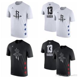 8c301849f069 13 James Hardens Houston Men s Rockets 2019 All-Star Game Name   Number Basketball  T-Shirt Black White