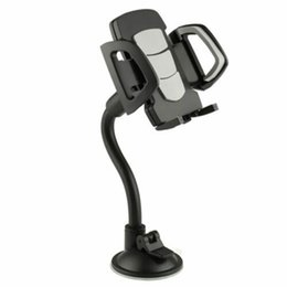 car mobile holder long arm 2019 - 2019 New Universal Long Arm Windshield Mobile Car Mount Bracket Holder For Your Cell Phone Stand For Iphone Gps Mp4 chea