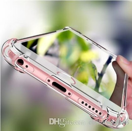 $enCountryForm.capitalKeyWord NZ - New Arrival Shockproof 360 TPU Silicone Protection Transparent Clear Case Cover For Iphone 5 5S 6 6S Plus 7 7 Plus iphone 8 iphone 8 plus X