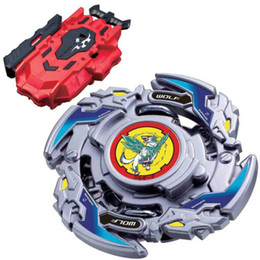 red beyblade NZ - Wolborg 8 Bearing Burst Beyblade BOOSTER B-121 New Kids Toy Top LR Red Bey Launcher