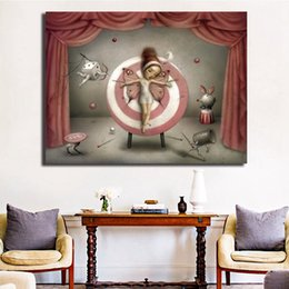 $enCountryForm.capitalKeyWord Australia - Romero Flying Hearts Love Me Tender Canvas Painting Wall Picture Poster And Print Decorative Home Decor