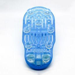 $enCountryForm.capitalKeyWord Australia - Easy Feet Foot Cleaner Easyfeet Foot Scrubber Brush Massager Clean Bathroom Shower Clean Blue Slippers Spa Treatment 100pcs