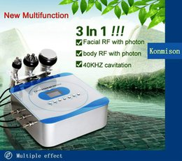 ultrasonic machine for face UK - 3 In 1 Cavitation RF Slimming Equipment For Weight Loss Body Shaping Ultrasonic Slimming Machine Body RF + Face RF