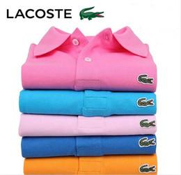 Tennis polo shirTs online shopping - New Mens Polo Shirts Men Desiger Polos Men Crocodile Embroidery Cotton Short Sleeve Shirt Clothes Golf Tennis Polos Big Size S XL