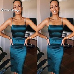 Pear Color Dress Australia - Short Sheath Spaghetti Sleeveless Cocktail Party Prom Dresses High End Quality Party Dress In Hot Sales