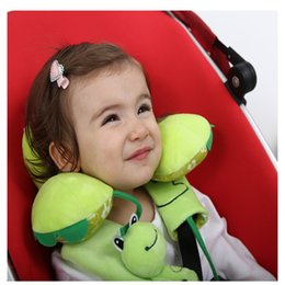Animal Travel Pillows Australia - Funny Animal Shape Baby Bedding Children Pillow 0-8Y Kids Safe Seat Pillow Infant Toddle Travel Product For Newborn