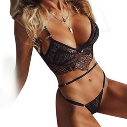 $enCountryForm.capitalKeyWord Australia - Woman Sexy Set Erotic Lace Transparent Open Bra Sexy Lingerie Set Lingerie Porno Ouvert Underwear Sex Clothes For Women Lenceria
