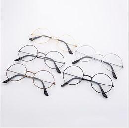 $enCountryForm.capitalKeyWord UK - New Korean version of the infinite glasses fashionable RETRO art round-frame glasses