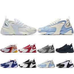 $enCountryForm.capitalKeyWord NZ - Cheaper New M2k Tekno Zoom 2K ZM 2000 Running Shoes For Men Women triple Black White Blue Orange Mens Trainers fashion Sneakers 36-45