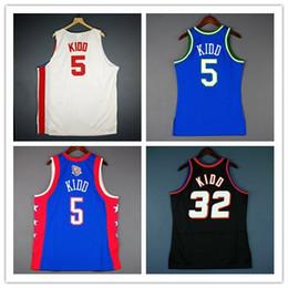 100% Stitched Jason Kidd Jersey Jersey al por mayor Jersey para hombre Talla XS-6XL Jerseys de baloncesto cosidos Ncaa en venta