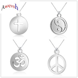 $enCountryForm.capitalKeyWord NZ - Awevsh Best Friends Jewelry Necklace Yin Yang Tai Chi Pendant Couple Couple Necklaces & Pendants Unisex Valentine Lovers Gift