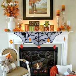 $enCountryForm.capitalKeyWord NZ - OurWarm Halloween Party Decorative Props Haunted House Hanging Ghost Spider Lace Table Runner Pumpkin Horror Home Decor Supplies