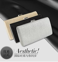 Discount bright handbag 2020 new women's dinner bag dazzling bright dinner clutch chain small square hard shell handbag shoulder messenger