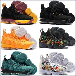 ea0f937fa137 20 Colors Available 2019 New Arrival AAA+ quality What the XV Lebron 15  EQUALITY Black White Basketball Shoes Size 40-46