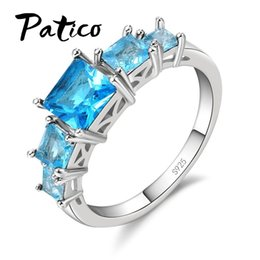 $enCountryForm.capitalKeyWord Australia - New Fashion Jewelry 925 Sterling Silver Ring Bridal Set Trendy Style Austrian Cubic Zirconia Women Girls Party Engagement