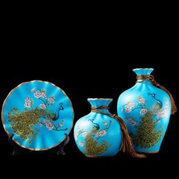 Living Room Suits Australia - three-piece suit of porcelain vase decoration(european style)