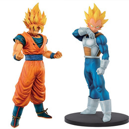 Discount trunks action figures - z Dragon Z figufre Resolution of Soldiers trunks Vegeta Gohan Dragon Ball Son Goku PVC Action Figure Collection Model To