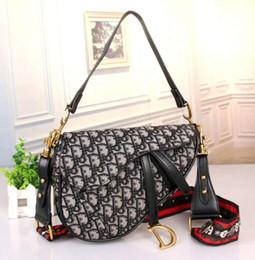 $enCountryForm.capitalKeyWord Australia - 2019 famous designer womens handbag new letter shoulder bag high quality genuine leather Messenger bag luxury saddle bag 66