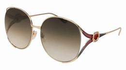 Discount brand new designer sunglasses - New Luxury Women 0225 Sunglasses Fashion Full Frame Ladies Vintage Retro Brand Designer Oversized Female Leisure Sun Gla