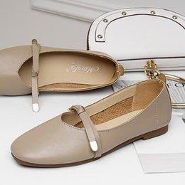 $enCountryForm.capitalKeyWord Australia - Num 4 very Beauty Comfortable Shoes Cut Down Flat Shoes Women Good Walking Outdoor Cheap Best Quality Slip on Shoes