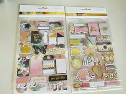 stickers for scrapbooking Australia - tickers for scrapbooking KSCRAFT Never Give Up 3D Die Cut Self-adhesive Stickers for Scrapbooking Happy Planner Card Making Journaling Pr...