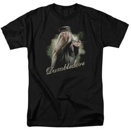 $enCountryForm.capitalKeyWord Australia - Harry Potter Movie DUMBLEDORE HOLDING WAND Licensed Adult T-Shirt All Sizes Men Women Unisex Fashion tshirt Free Shipping