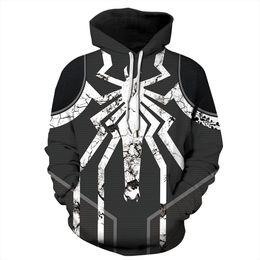 Spiderman coStume women online shopping - New Hoodie Pullover Sweatshirt d Avengers Infinity War Iron Spider Halloween Sweater Spiderman Superhero men Women Unisex Cosplay Costume