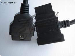 $enCountryForm.capitalKeyWord NZ - ORIGINAL for LAUNCH X431 for Mitsubishi Hyundai -12+16 OBDII Cable GX3 Connector OBDII Adaptor 12 16 OBD2 Cables