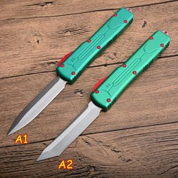$enCountryForm.capitalKeyWord Australia - New MT 2 Styles MIC UTX-85 bounty hunte D2 Blade Tactical Automatic CNC 6061-T6 Aluminum handle knives good knife