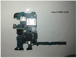 $enCountryForm.capitalKeyWord NZ - 100%Working~Unlock Original 32GB Mainboard For Samsung Galaxy NOTE 3 N900 Motherboard Board Clean IMEI Free Shipping