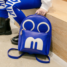 LoveLy korean cartoon girL online shopping - 2018 Korean Fashion New Boys and Girls Lovely Small Backpack Cartoon School Bags