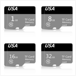 tf memory cards 1gb Australia - Wholesale #173 Genuine Capacity DZ New Micro FLash Memory Card Class 10 TF FULL CAPACITY 32GB 16GB 8GB 1GB