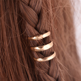 $enCountryForm.capitalKeyWord Australia - 2 PCS 1.5 CM Adjustable Dreadlock Beads Tube Ring for Braids Hair Beads Braid Cuff Clip Cute