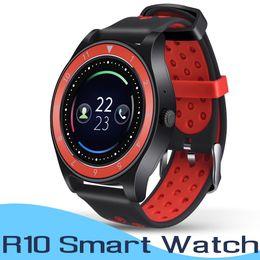 Bluetooth Smart Watch Sim Australia - R10 Bluetooth Smart Watch Wristwatch Support SIM Card Camera Pedometer Smartwatch Fitness Tracker For Android Phone PK DZ09 GT08 Wristband