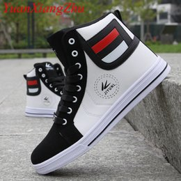 $enCountryForm.capitalKeyWord Australia - Brand Men High Shoes Mens Hip-Hop Casual Shoes 2018 Hot New Fashion Breathable Comfortable Light Lace Adult High Top Men