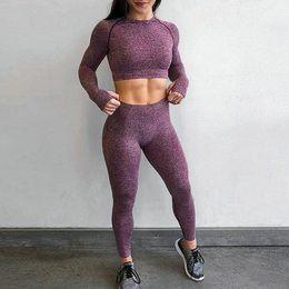 $enCountryForm.capitalKeyWord Australia - Solid High Waist Energy Seamless Yoga Leggings Women Workout Running Sport Pants Push Up Hip Fitness Gym Leggings Female Tights