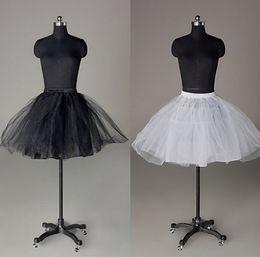 $enCountryForm.capitalKeyWord Australia - New Arrival Short White black petticoat wedding bridal Bridal Accessories 2019 Accessories Women Ladies underskirt slip Crinoline