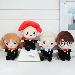 $enCountryForm.capitalKeyWord NZ - Harry Potter Plush doll High Quality Plush Doll Soft Carton Cute Wizard Series Stuffed Animals Plush gifts For Kids