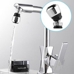 kitchen faucets sprayer head 2019 - 360 Degree Kitchen Sprayers Water Tap Bubbler Swivel Head Saving Faucet Aerator Connector Diffuser Faucet Nozzle Filter