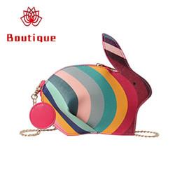 f8761ee83733 Boutique 3D Cute Kawaii Handbag Cartoon Mini Women Bag 2019 New Fashion  Rabbit Small Fresh Shoulder Messenger Bag Chic Chain Bags
