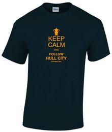 $enCountryForm.capitalKeyWord Australia - KEEP CALM AND FOLLOW HULL CITY FA CUP T-SHIRT MENS Cute T shirts Man 100% Cotton Cool