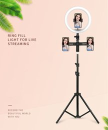 $enCountryForm.capitalKeyWord NZ - Selfie Ring Light with Tripod Stand & Cell Phone Holder for Live Stream Makeup Mini Led Camera Ringlight for YouTube Video Photography