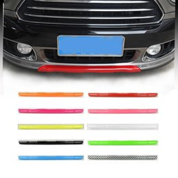 $enCountryForm.capitalKeyWord Australia - ABS Car Front Lower Bumper Lip Cover Diffuser Spoiler Body Kit Moulding Trim For Mini Cooper Countryman F60 Exterior Styling