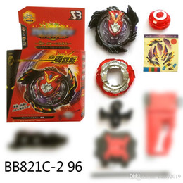 $enCountryForm.capitalKeyWord NZ - Hot Sale Beyblade Burst Toys Arena B96 Metal Fusion spinning top gyro With Launcher and box God 4D Beyblades Toy For Kids
