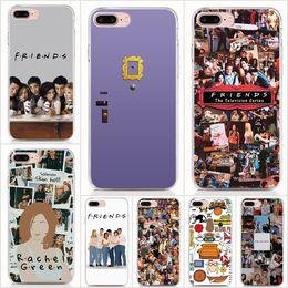 $enCountryForm.capitalKeyWord Australia - For iPhone XS Max 7 8 Plus 6 6S Plus 5S 5 SE case Soft TPU Print pattern TV Show Friends High quality phone cases 10pcs Lot